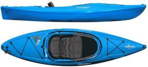 Dagger Zydeco Recreational Kayak, Size 9.0, Dagger Blue